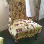 Restoration of English Louie Chair