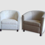 Custom made tub chairs