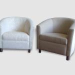 Custom made tub chairs