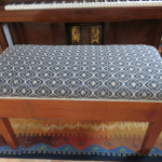 Reupolstered furniture in matching Warwich fabric 2