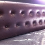 Diamond button seating installed for a cakeshop in Sydney
